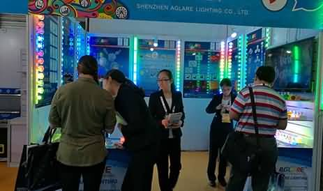 Warm congratulations on the success of Aglare lighting co,.Ltd in the Asian Attractions Expo 2016