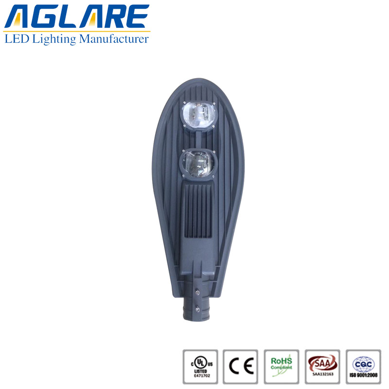 120W COB LED Street Light With BRIDGELUX Chip And ...
