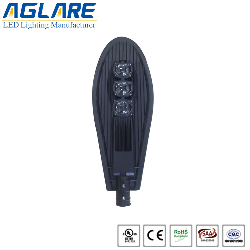 180W COB LED Street Light With BRIDGELUX Chip And ...